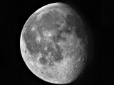 Waning Moon Photographic Print by  Stocktrek Images