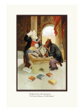 Teddy Roosevelt's Bears: Teddy B and Teddy G Studying Latin Wall Decal by R.k. Culver