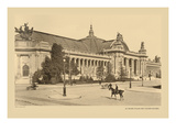 The Great Palace, Champs-Elysees Wall Decal by Helio E. Ledeley