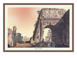 Arch of Titus Wall Decal by M. Dubourg