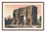 Triumphal Arch of Constantine Wall Decal by M. Dubourg
