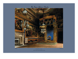 The King's Audience Chamber, Windsor Castle Wall Decal by C. Wild
