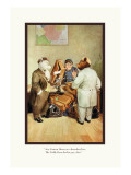 Teddy Roosevelt's Bears: Teddy B and Teddy G at a Custom House Wall Decal by R.k. Culver