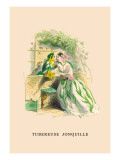 Tubereuse Jonquille Wall Decal by J.J. Grandville