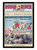 Rough Rider Weekly: King of the Wild West's Stolen Pinto Pony Wall Decal by C.j. Taylor