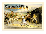 Silver Spur Pirates Wall Decal by E.f. Benton