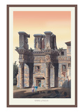 Temple of Pallas Wall Decal by M. Dubourg