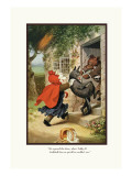 Teddy Roosevelt's Bears: Teddy B and Teddy G Foiling the Wolf Wall Decal by R.k. Culver