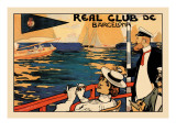 Real Club de Barcelona Wall Decal by H.m. Lawrence