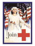 Join, American Red Cross Wall Decal by Walter W. Seaton