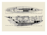 Single-Hand Yawl Cabin and Deck Wall Decal by Charles P. Kunhardt