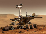 Artist's Rendition of Mars Rover Photographic Print by Stocktrek Images