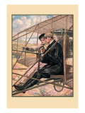 The Flying Machine Wall Decal by Clarence F. Underwood