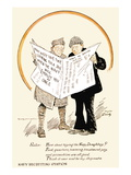 The Navy Will Employ You at Once, c.1918 Wall Decal by Clare A. Briggs