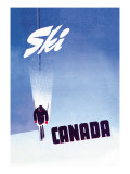 Ski Canada Wall Decal by P. Ewart