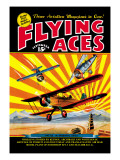 Flying Aces over the Rising Sun Wall Decal by C. B. Mayshark