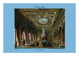 Throne Room, Carlton House Autocollant mural par C. Wild