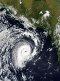 A Tropical Cyclone Photographic Print by  Stocktrek Images