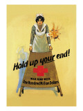Hold Up Your End Wall Decal by W.b. King
