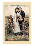 The Countryside Wall Decal by Clarence F. Underwood