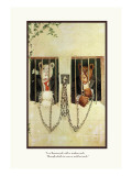 Teddy Roosevelt's Bears: Teddy B and Teddy G in a Russian Jail Wall Decal by R.k. Culver