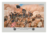 First at Vicksburg Wall Decal by Hugh Charles Mcbarron Jr.
