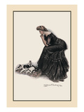 Minding the Felines Wall Decal by Clarence F. Underwood