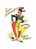 Mr. Sidney Herberte-Basing's Humpty Dumpty Pantomime Wall Decal by W.h. Pike