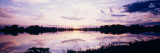 Reflection of Clouds in a Lake, Illinois, USA Wall Decal by  Panoramic Images
