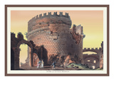Tomb of Cecilia Metella Wall Decal by M. Dubourg