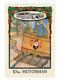 The Motorman Wall Decal by H.o. Kennedy