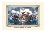 Death of General Packenham Wall Decal by J. Downes