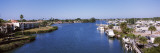 City at the Waterfront, Gulf Intracoastal Waterway, Venice, Sarasota County, Florida, USA Wall Decal by  Panoramic Images