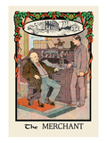 The Merchant Wall Decal by H.o. Kennedy
