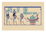 Ptah, Sekar and Osris Wall Decal by J. Gardner Wilkinson
