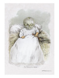 Death in Swaddling Clothing Wall Decal by F. Frusius M.d.