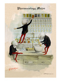 Pharmacology Major Wall Decal by F. Frusius M.d.