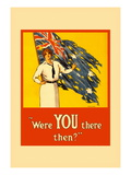 Were You There Then Wall Decal by Harry J., Weston