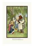 Teddy Roosevelt's Bears: The Cloak Wall Decal by R.k. Culver