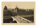 Exchange Bridge and Court of Justice Wall Decal by Helio E. Ledeley