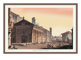 Temple of Fortuna Virilis Wall Decal by M. Dubourg