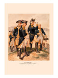 Commander in Chief and Staff Wall Decal by H.a. Ogden