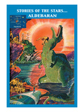 Stories of the Stars: Aldebaran Wall Decal by Frank R. Paul
