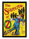 The Scarecrow of Oz Wall Decal by John R. Neill