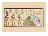 Ra and Harmachis Wall Decal by J. Gardner Wilkinson