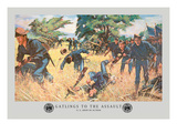 Gatlings to the Assault Wall Decal by Hugh Charles Mcbarron Jr.