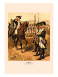 Light Infantry Wall Decal by H.a. Ogden