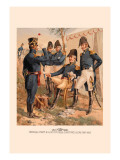 General Staff and Line Officers, Light Artillery Wall Decal by H.a. Ogden