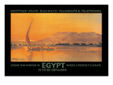 Spend This Winter in Egypt Where a Perfect Climate is to Be Obtained Wall Decal by D. Rudeman