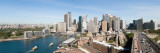 View of a City, Circular Quay, Sydney Harbor, Sydney, New South Wales, Australia Wall Decal by  Panoramic Images